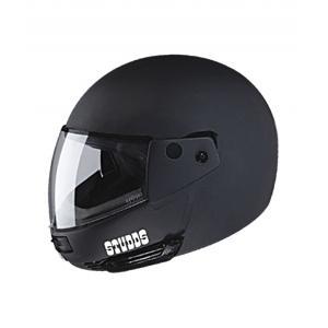 Studds Ninja Pastel Matte Black Full Face Helmet, Size: XL