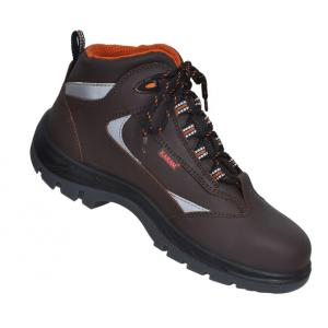 Karam FS 65 Composite Toe Brown Sports Safety Shoes, Size: 9