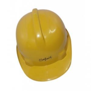 Safari Yellow Fresh ISI Safety Helmet (Pack of 10)