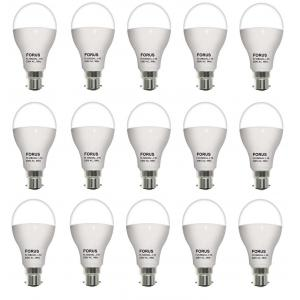 FORUS 12W White LED Bulb (Pack Of 15)