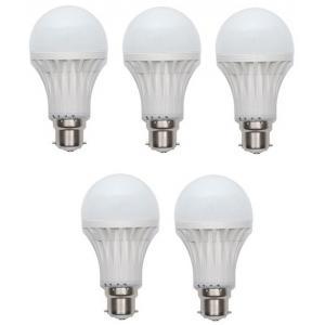 Gi-Shop 10W B-22 LED Bulbs (Pack of 5)