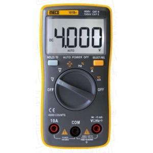 Meco 4000 Counts Autoranging Digital Multimeter, 101B+