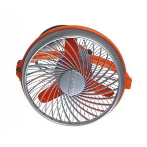 Luminous Buddy 230mm Hi-Speed Personal Table Fan, Colour: Orange