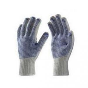Frontier Double Dotted Hand Gloves, Length: 8 Inch (Pack Of 12)