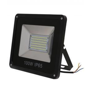 Homes Decor 100W IP-65 Black LED Flood Light