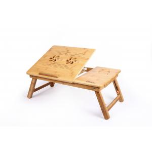 DGB Jumbo-Dual Wooden Laptop Table With Cooling Fan