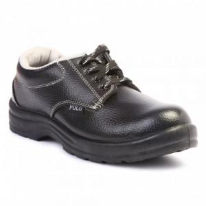Polo Steel Toe Black Safety Shoes (Pack of 24)