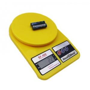 Stealodeal 7 Kg Yellow Electronic Kitchen Weighing Scale With...