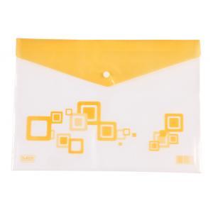 Saya Yellow Clear Bag Radiant, Dimensions: 340 X 15 X 350 Mm,...