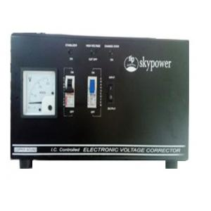 Sky Power 6.0 KVA Copper Wounded Automatic Voltage Mini Line Stabilizer, Input Voltage: 90V AC-270V AC