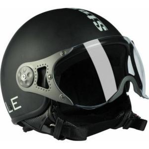 Steelbird SB27 Matte Black Open Face Style Motorbike Helmet, Size:...